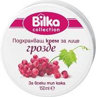 Bilka Collection Face Cream - Подхранващ крем за лице с екстракт от грозде за всеки тип кожа - шампоан