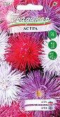 Семена от Астра гигант - микс от цветове