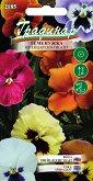 """Семена от Теменужка Швейцарски гигант - микс от цветове - Опаковка от 0.25 g от серия """"Градинар: Цветя"""""""