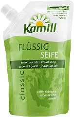 Kamill Classic Flussig Seife - Пълнител за течен сапун с екстракт от лайка - душ гел