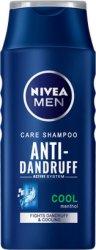 Nivea Men Care Shampoo Anti-Dandruff Cool - Шампоан против пърхот за мъже с ментол - шампоан
