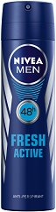 """Nivea Men Fresh Active Anti-Perspirant - Дезодорант за мъже против изпотяване от серията """"Fresh Active"""" - ролон"""