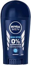 """Nivea Men Fresh Active Stick Deodorant - Стик дезодорант за мъже от серията """"Fresh Active"""" - продукт"""