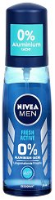"""Nivea Men Fresh Active Pump Spray Deodorant - Спрей дезодорант за мъже от серията """"Fresh Active"""" - продукт"""