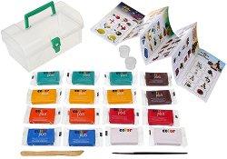 Colorplus - Творчески комплект от глина и пособия за моделиране