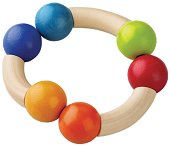 Дрънкалка - Магическа арка - Дървена играчка -