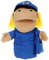 """Пощальон - Плюшена играчка за куклен театър от серия """"Puppis"""" -"""