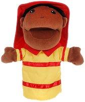 """Пожарникар - Плюшена играчка за куклен театър от серия """"Puppis"""" -"""