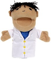 """Медицинска сестра - Плюшена играчка за куклен театър от серия """"Puppis"""" -"""