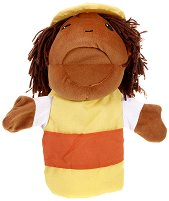 """Строител - Плюшена играчка за куклен театър от серия """"Puppis"""" -"""