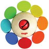 Дрънкалка - Цветна въртележка - играчка