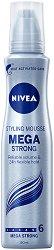 Nivea Mega Strong Styling Mousse - Пяна за коса за много силна фиксация -