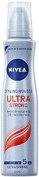 Nivea Styling Mousse Ultra Strong - Пяна за коса за ултра силна фиксация -