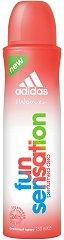 """Дезодорант за жени - От серията """"Adidas Women Fun Sensation"""" -"""