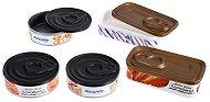 Кутийки за игра - Консервирани храни - Комплект от 5 броя - играчка