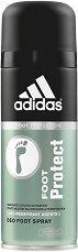 """Део спрей за крака - Foot Protect - От серията """"Adidas Men Foot Care"""" - шампоан"""