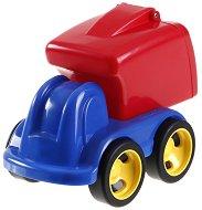 Камион за боклук - Пластмасова количка - играчка
