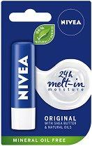 Nivea Original Care - Балсам за устни с масло от ший и пантенол - серум