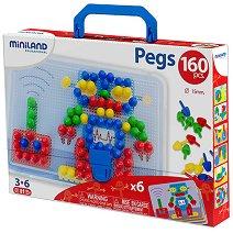 Мозайка - Комплект от 160 броя - играчка