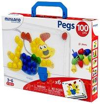 Мозайка - Комплект от 100 броя - играчка