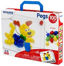 Мозайка - Комплект от 100 броя - кукла