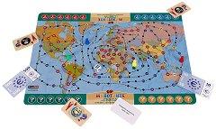 Животните по света - Семейна образователна игра -
