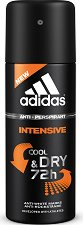 """Дезодорант против изпотяване за мъже - От серията """"Adidas Men Intensive"""" -"""