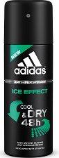 """Дезодорант против изпотяване за мъже - От серията """"Adidas Men Ice Effect"""" -"""