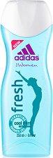 Adidas Women's Shower Gel - Fresh - Хидратиращ душ гел за жени с екстракт от мента - душ гел