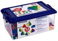 Гео-конструктор - Пирамиди - Комплект от 54 части - играчка