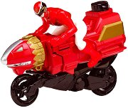 "Moto Ataque - Sea Lion Red Ranger Cycle - Играчкa от серията ""Power Rangers Zord-builder"" -"