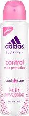 """Дезодорант против изпотяване за жени - От серията """"Adidas Women Control"""" -"""