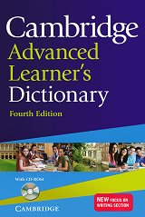 Cambridge Advanced Learner's Dictionary 4th Edition + CD -