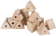 Дървени призми с тежести - Образователни играчки - раница