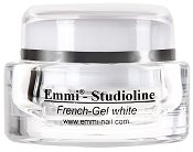 """UV гел за френски маникюр - бял - Разфасовки от 5 ÷ 30 ml от серията """"Emmi - Nail Studioline"""" -"""