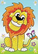 Създай сам картина с пайети - Лъвове - продукт