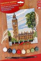 Нарисувай сам шедьовър - Биг Бен, Лондон - Творчески комплект - творчески комплект