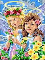 Нарисувай сам шедьовър - Ангели - Творчески комплект - продукт