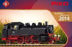 Брошура - Piko 2014 - За модели в мащаб G -