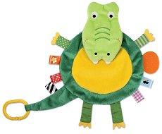 """Крокодил - Мека играчка за бебешко креватче или количка от серията """"Snuggle Pal"""" -"""