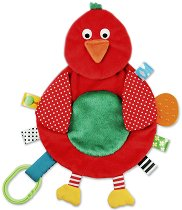 """Птица - Мека играчка за бебешко креватче или количка от серията """"Snuggle Pal"""" -"""