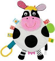 """Крава - Мека играчка за бебешко креватче или количка от серията """"Snuggle Pal"""" -"""