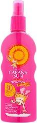 Слънцезащитен лосион спрей за деца - SPF 30 - дамски превръзки