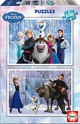 Замръзналото кралство - Два пъзела - пъзел