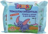 Бебешки мокри кърпички -