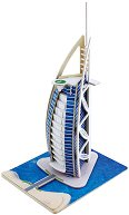 Бурж Aл Араб - 3D пъзел от дърво - пъзел