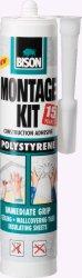 Бяло монтажно лепило за стиропор - Montagekit Polystyrene - Флакон от 470 g - продукт