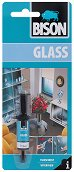 Прозрачно лепило за стъкло - Bison Glass - Тубичка от 2 ml