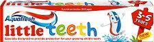 Aquafresh Little Teeth - Детска паста за малки зъбки - дезодорант