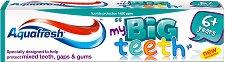 Aquafresh My Big Teeth - Детска паста за млечни и постоянни зъби - четка